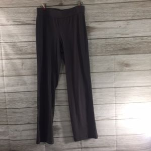 Eileen Fisher Organic Cotton Highrise Gray Pants